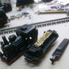 Trenes Escala: CARCASA RESINA LOCOMOTORA VAPOR. Lote 124686147