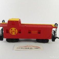 Trenes Escala: VAGON FURGON SANTA FE ATSF 3851 BACHMANN 1040 ESCALA H0. Lote 125070103
