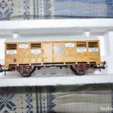 Trenes Escala: TRES VAGONES, UNO CON SU CAJA ORIGINAL SIN USAR.. Lote 125239675