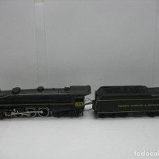 Trenes Escala: MEHANO - LOCOMOTORA DE VAPOR 501 AMERICANA CON TENDER TORONTO HAMILTON BUFALO CONTINUA - ESCALA H0. Lote 125703355