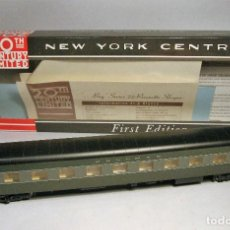 Trenes Escala: WALTHERS. ESCALA H0. LOTE DE 4 COCHES PASAJEROS 20TH CENTURY LIMITED. NEW YORK CENTRAL. . Lote 126295339