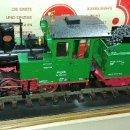 Trenes Escala: LGB. LOCOMOTORA CON TENDER 2015D, 2 MOTORES, EN ESTADO COMO NUEVO, MUY POCO USADO.. Lote 130165024