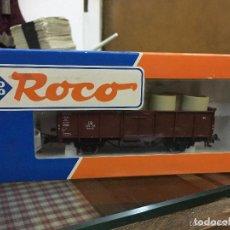 Trenes Escala: VAGON DE MERCANCIAS DB - TREN TRENES ROCO. Lote 126586503