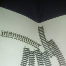 Trenes Escala: TRENES. LOTE DE VÍAS. DESCONOZCO LA MARCA. Lote 127516855