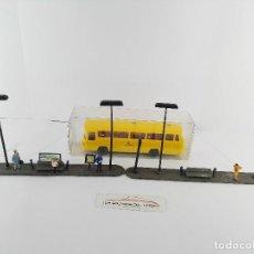 Trenes Escala: TERMINAL DE AUTOBUSES VOLLMER 3766 EDICION LIMITADA PARA DECORAR MAQUETA DE TREN ESCALA H0. Lote 129718175