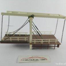 Trenes Escala: PUENTE ELEVADIZO PARA DECORAR MAQUETA DE TREN ESCALA H0. Lote 129720219