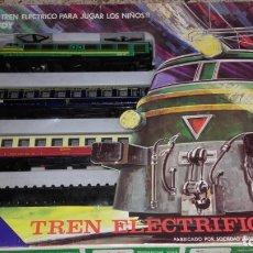 Trenes Escala: VALTOY TREN VALTOY , VALENCIANA DE JUGUETES, TREN ANTIGUO , JUGUETE ANTIGUO. Lote 130002515