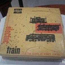 Trenes Escala: ANTIGUO TREN ELÉCTRICO DE PRINCIPIOS DEL SIGLO XX. ÚNICO. VER FOTOS.TREN AMERICANO ELÉCTRICO. Lote 130453414