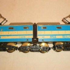 Trenes Escala: LOCOMOTORA ELECTRICA ARTICULADA. Lote 131070600