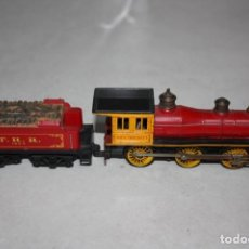 Trenes Escala: ANTIGUA LOCOMOTORA CON TENDER. TRIANG.. Lote 131928186