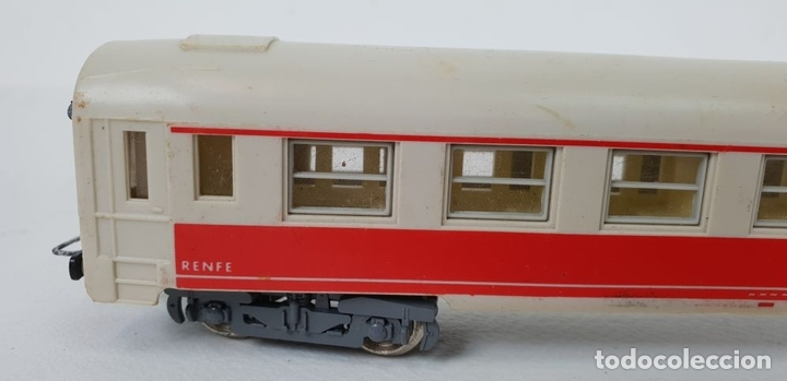 Trenes Escala: 3 VAGONES JOUEF. RENFE ESN 678. MADE IN IRELAND. TREN RICO. ESCALA H0. SIGLO XX. - Foto 4 - 132087942