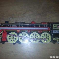 Trenes Escala: ANTIGUO TREN DE HOJALATA M. 68-LE FALTA LA TAPADERA DE ATRAS. Lote 132335746