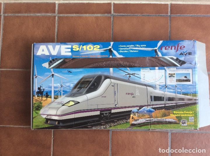 AVE S/102 RENFE PEQUETREN (Juguetes - Trenes - Varios)