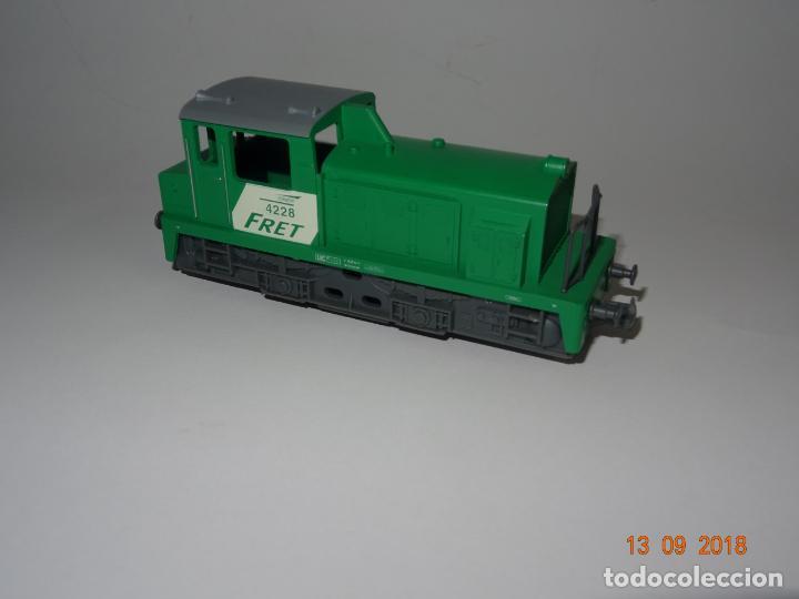 Trenes Escala: Antigua Locomotora Diesel de Maniobras en Escala *H0* de JOUEF - Año 1980s. - Foto 2 - 133379506