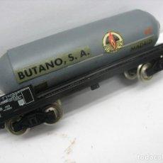 Trenes Escala: VAGON CISTERNA BUTANO SA H0 MADRID. Lote 134170882