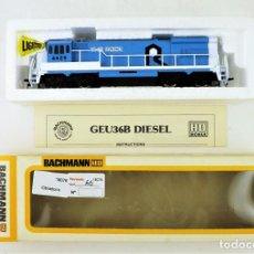 Trenes Escala: BACHMANN LOCOMOTORA GEU 36B DIESEL. Lote 149288698