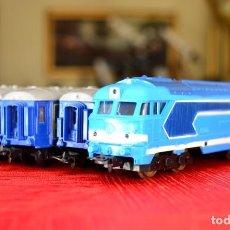 Trenes Escala: TREN PAYA CON ALGUNOS ACCESORIOS (LEER DESCRIPCIÓN). Lote 134759950