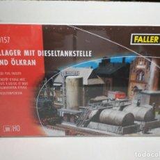 Trenes Escala: ESTACIÓN DE REPOSTAJE Y DEPOSITOS DE GASOIL FALLER REF:120157 H0. Lote 136110886