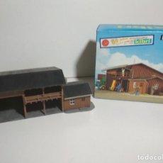 Trenes Escala: ALMACEN MEDIO CONSTRUIDO KIBRI REF:59790 H0. Lote 136111578