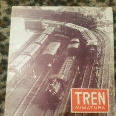 Trenes Escala: REVISTA TREN MINIATURA, AÑO 1957. Lote 136132346