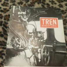 Trenes Escala: REVISTA TREN MINIATURA, AÑO 1958. Lote 136135138