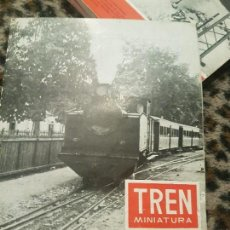 Trenes Escala: REVISTA TREN MINIATURA, AÑO 1958. Lote 136136162