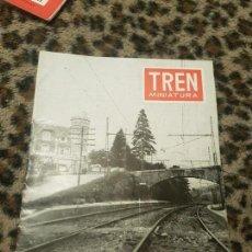Trenes Escala: REVISTA TREN MINIATURA, AÑO 1958. Lote 136138046