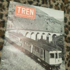Trenes Escala: REVISTA TREN MINIATURA, AÑO 1960. Lote 136138714