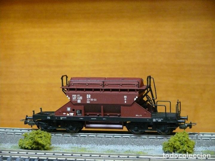 PIKO H0 Vagón tolva con aperturas superiores, de la DRG, referencia 54320. segunda mano