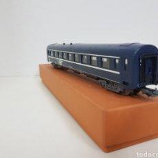 Trenes Escala: JOUEF TRANS EUROPE WITH DE LA SNCF FRANCESA AZUL LE FALTA UN TOPE VAGÓN LARGO DE PASAJEROS DE 27 CM. Lote 136374008