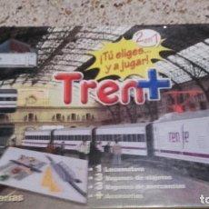 Trenes Escala: PEQUETREN RENFE DOS TRENES EN UNO, JUGUETE ANTIGUO, TREN ANTIGUO,. Lote 136745222