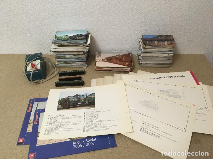 500 Postales Renfe, Suiza, Láminas Renfe, Ibertren N, Electrotren HO segunda mano