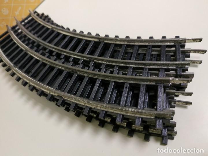 Trenes Escala: 1018- LOTE 7 VIAS JYESA AÑOS 50/60 ESCALA H0 REF 1201/1 ANTIGUO STOCK - Foto 2 - 137336366