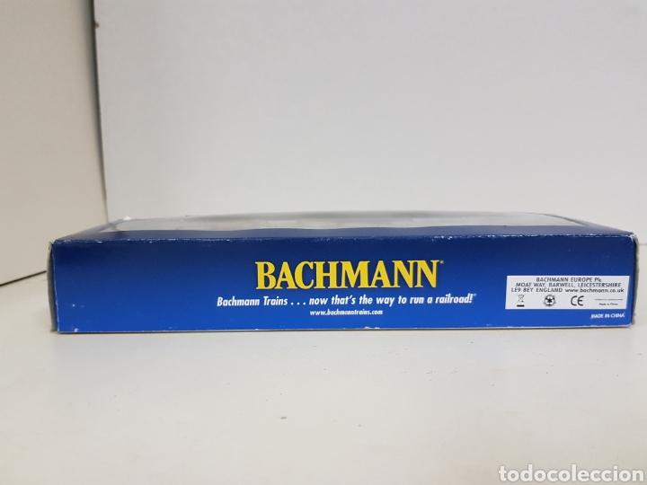 Trenes Escala: Locomotora Bachmann 63510 Alaska diésel escala H0 corriente continua azul y amarilla 20CMS - Foto 3 - 137521141
