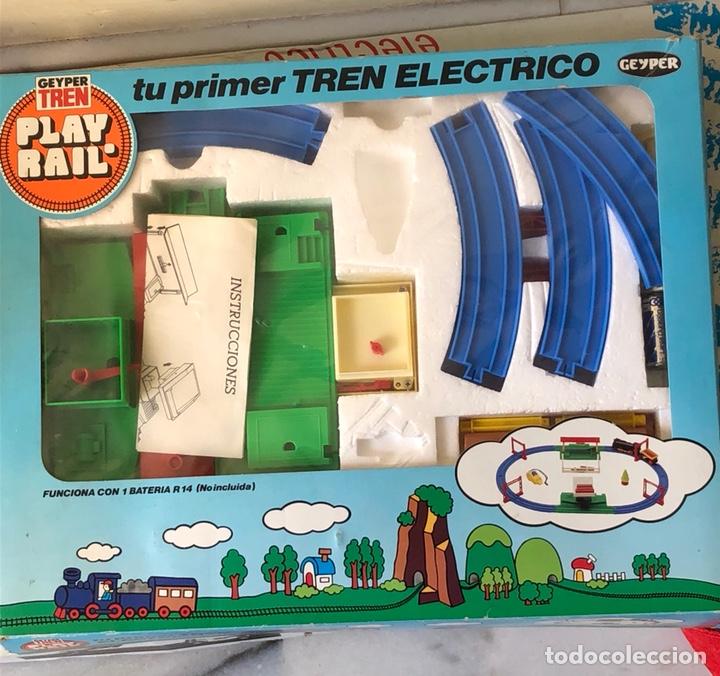 TREN ELÉCTRICO GEIPER TREN (Juguetes - Trenes - Varios)