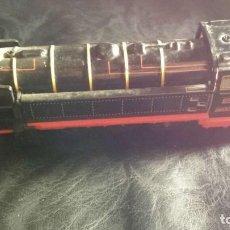 Trenes Escala: LOCOMOTORA TREN ANTIGUO FUNCIONA. Lote 139179470