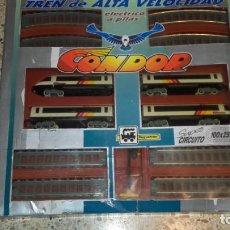 Trenes Escala: PEQUETREN TREN DE ALTA VELOCIDAD CONDOR, SEINSA, JUGUETE ANTIGUO, TREN ANTIGUO. Lote 139195030