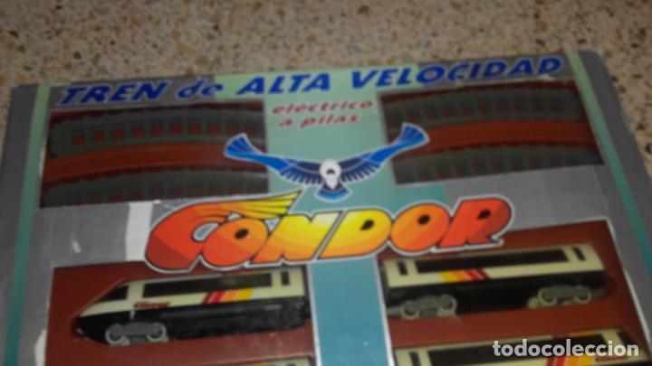 Trenes Escala: PEQUETREN TREN DE ALTA VELOCIDAD CONDOR, SEINSA, JUGUETE ANTIGUO, TREN ANTIGUO - Foto 2 - 139195030