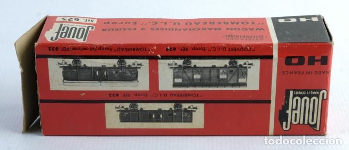 Trenes Escala: Vagón verde Jouef. Ref 623-Con su caja-años 60 - Foto 2 - 139385778