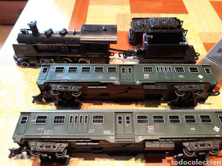 Trenes Escala: Lote de piezas de rail king classic train - Foto 2 - 139511344