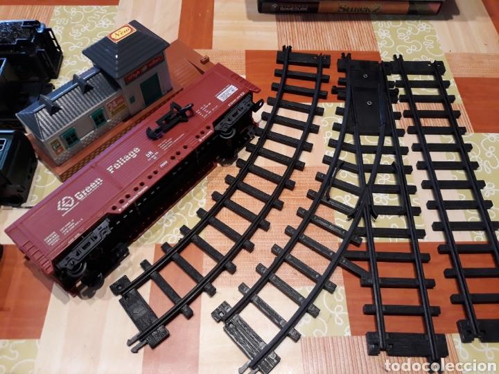 Trenes Escala: Lote de piezas de rail king classic train - Foto 3 - 139511344