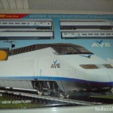 Trenes Escala: TREN RENFE AVE SERIE 100 DE MEHANO. T682 ESCALA H0. DC. Lote 139520602