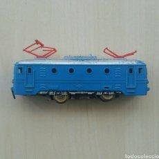 Trenes Escala: LOCOMOTORA TREN ELÉCTRICO, FUNCIONA, MADE IN WESTERN GERMANY. Lote 139557258