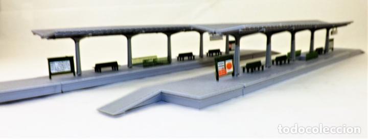 Trenes Escala: Construcción Ferroviaria Andenes de estación construcciones de Vaupe - Foto 4 - 124407851