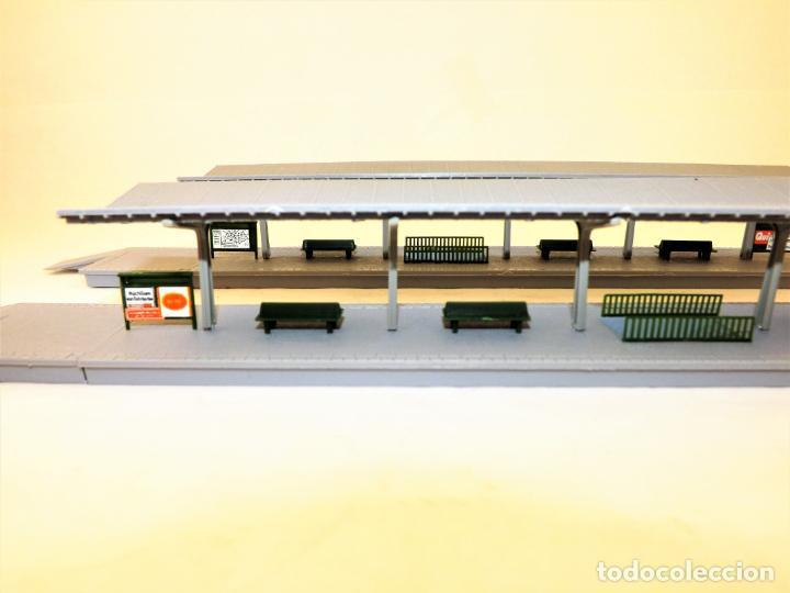 Trenes Escala: Construcción Ferroviaria Andenes de estación construcciones de Vaupe - Foto 6 - 124407851