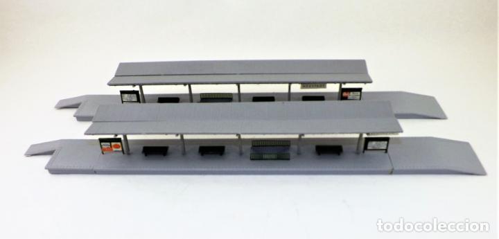 Trenes Escala: Construcción Ferroviaria Andenes de estación construcciones de Vaupe - Foto 7 - 124407851
