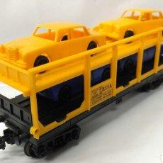 Trenes Escala: VAGÓN PORTACOCHES STVA MEHANO ESCALA H0. Lote 140139636