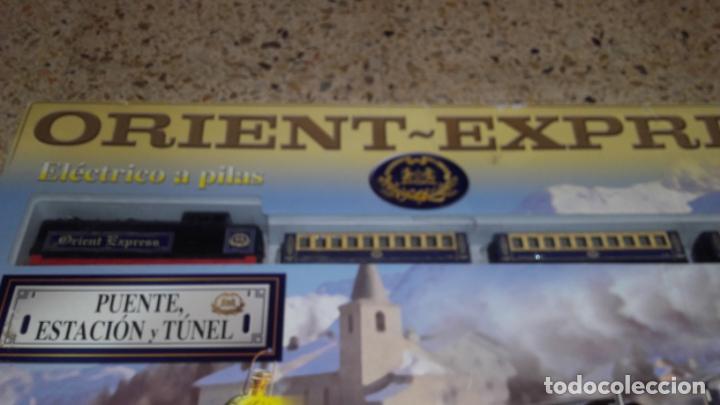 Trenes Escala: PEQUETREN ORIENT EXPRESS, TREN ANTIGUO, VALTOY ORIENT EXPRESS, TREN DE JUGUETE, - Foto 2 - 140163850