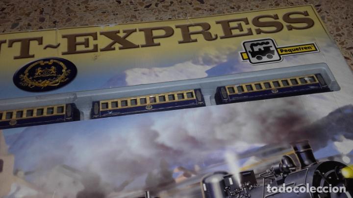 Trenes Escala: PEQUETREN ORIENT EXPRESS, TREN ANTIGUO, VALTOY ORIENT EXPRESS, TREN DE JUGUETE, - Foto 3 - 140163850