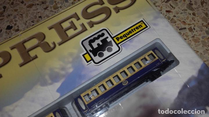 Trenes Escala: PEQUETREN ORIENT EXPRESS, TREN ANTIGUO, VALTOY ORIENT EXPRESS, TREN DE JUGUETE, - Foto 4 - 140163850